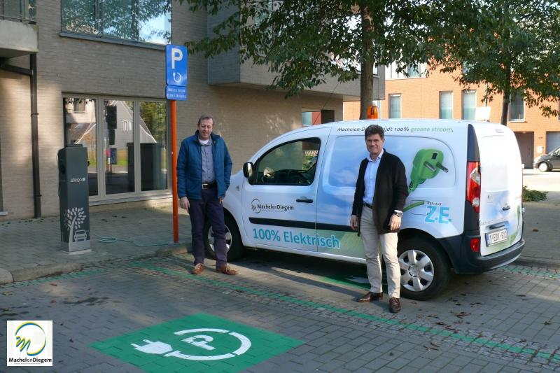 Eerste Publieke Laadpalen Voor Elektrische Wagens In De Gemeente